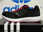 NEW ADIDAS Duramo 7 Women's Running Shoes - Black/Pink;  B33562