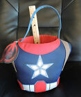 NWT Avengers Captain America Plush Gift Basket Bucket ~ From Smoke Free Home