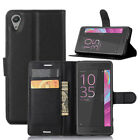 (9 Colors) Leather Case Flip Wallet Cover For Sony Xperia X 4G