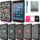 US Pattern Shockproof Hybrid Defender Cover Case for iPad 2 3 4 Air1 Air 2 Mini