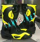 MOTORBIKE MOTORCYCLE VR46 RACING MOTOGP LEATHER BOOTS