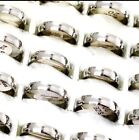 Stainless Steel Unisex Ring Bands