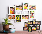 8 In1 Photo Frame Wood Wall Collage THE KIDS Black White Brand NEW Gift Idea HOT