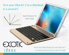 iPad Air 2 Ultrathin Bluetooth 4.0 Backlit Keyboard 7 Color Backlight Choices