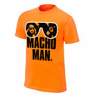 WWE Macho Man Randy Savage T-Shirt orange L XL neu und ungetragen OVP WWF