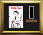 CHARLIE CHAPLIN - The Great Dictator  FRAMED FILM CELL