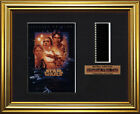 STAR WARS - A New Hope    Mark Hamill - Carrie Fisher   FRAMED FILM CELL