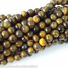 16 Inch Gemstone Tiger Eye 4mm 6mm 8mm Round Beads