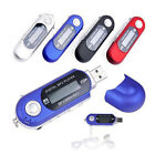 Portable USB Digital MP3 Music Player LCD Screen Support 32GB TF Card & FM Radio