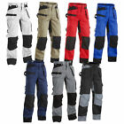 Blaklader Knee Pad Work Trousers with Nail Pockets (Multi Choices) - 1503