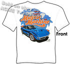 1968 1969 Corvette T Shirt C3 427 Stingray Tee Muscle Machine Sz M L XL 2XL 3XL