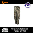 Spika HR Tracker Pants - Camo, H-205, Camo Hunting Pants,Water Resistant Pants,