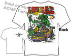 Ratfink T Shirts Hot Rod Clothes Ed Roth Tee Beatnik Bandit II Eat Sleep Drink