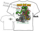 Rat Fink Shirt Fords Kick Butt Ed Big Daddy Roth T Shirts, Sz M L XL 2XL 3XL