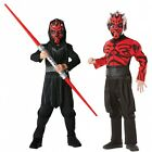 CHILD DARTH MAUL STAR WARS KIDS BOYS HALLOWEEN BOOK WEEK FANCY DRESS COSTUME NEW