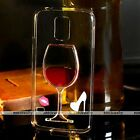 Liquid Red Wine Bottle Glass Quicksand Case Cover For Samsung Galaxy S5 Note 3 4