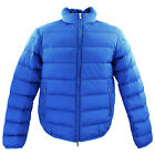 Armani Jeans Mens Light Weight Quilted Feather Down Jacket B6B13 BZ Z8 Blue