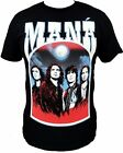 Mana Band T-Shirt New Spanish Rock Tee Free Shipping SM-2X Rock En Espanol