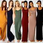 Women New 2016 Ankle Length Long Maxi Dress Ladies Celebrity Party Casual Dress