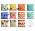 SLIGHT DEFECTS - WATERPROOF OUTDOOR Cushion Covers Geometric Bright Floral