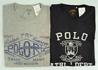 Mens Ralph Lauren Polo Custom Fit T Shirt - Black Grey - M L RRP £50