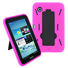 "Heavy Duty Hybrid Hard Case Cover For Samsung Galaxy Tab 2 7.0 7"" P3100 P3110"