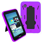 Heavy Duty Hybrid Hard Case Cover For Samsung Galaxy Tab 2 7.0 P3100 / P3110 7""