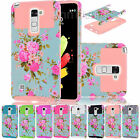 For LG Stylo 2 /LS775 Slim Hybrid Dual Layer Armor Phone Shockproof Cover Case