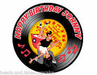 Rockabilly Retro 50s Swing Dance Lindy Hop Party Cake Decoration icing sheet