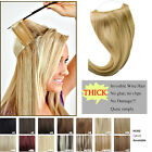 Miracle Secret Wire 100% Human Hair Extensions 100g 120g 140g Flip 24 inches