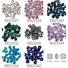 20Pcs 12mm Square Cabochon Cushion Cut Fancy Crystal Stone For 4461