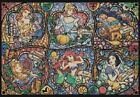 Counted Cross Stitch Pattern or kit, Stained Glass, Disney Princesses