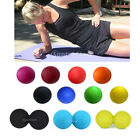 SINGLE/DOUBLE Lacrosse Roller Massage Ball Gym Trigger Point Muscle Relief Relax