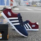 New Men's Shoes Fashion Breathable Casual Canvas Sneakers Running Shoes Y1