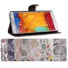 NEW Card Slots Wallet Stand Case Cover for Samsung Galaxy Note 3 III N9000 N9005