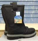 Portwest Safety black rigger boots with steel toe cap and midsole