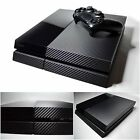For PS4 Playstation 4 3D Textured CARBON Fibre Wrap Sticker Skin Cover Decal