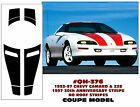 GE-QH-376 1993-97 CAMARO & Z28 COUPE RACING STRIPE - 30TH ANNIVERSARY - NO ROOF