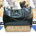 Borsa Donna Blu Byblos shopping Lola nero / beige estate 2016