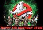 GHOSTBUSTERS Ghost Busters Birthday Party Cake Decoration icing sheet Cup cake