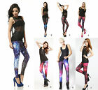 Sexy Galaxy Leggings*Neu*Treggings*Legings*Gr.34-38