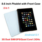 9.6 inch Tablet PC 3G Lte Duad Core 1G RAM 16GB ROM Dual SIM Bluetooth Wi-Fi PC