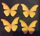 BUTTERFLIES MDF - WOODEN CRAFT SHAPES  various sizes