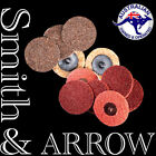 "2"" 50mm SCOTCH BRITE ROLOC DISCS SANDING QUICK CHANGE SURFACE CONDITIONING PADS"