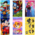 Disney & Kids TV Movie Character Holiday Beach Towel New Gift