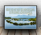 Christian Inspirational Poster - Psalms 118:24 - Rejoice Joy Righteous ALL SIZES