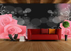 3d Delicate Charming Roses 0 Wallpaper Decal Decor Home Kids Nursery Mural  Home