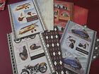 Craftstyle Buzzcraft Vintage Travel 1 A4 Die-cut Topper + 1 A4 Back Card Sets