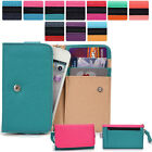 Two-Tone Protective Wallet Case Clutch Cover for Smart-Phones ESAMMT-5
