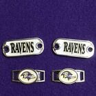 2 ~ Baltimore Ravens NFL Paracord Charms Oval or Mini Dog Tag shoelace charms on eBay